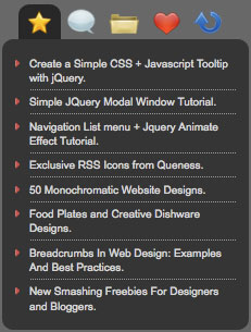 jQuery Tabbed Interface / Tabbed Structure Menu