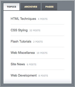 Slick Tabbed Content Area using CSS and jQuery